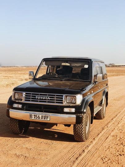 Toyota Land Cruiser in