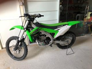 Used kx450f in