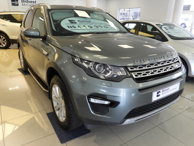 Used Land Rover Discovery Sport in