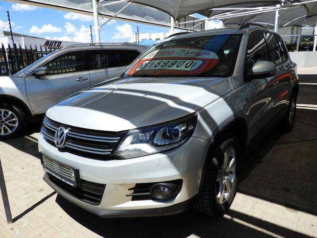 Used Volkswagen Tiguan Tsi in