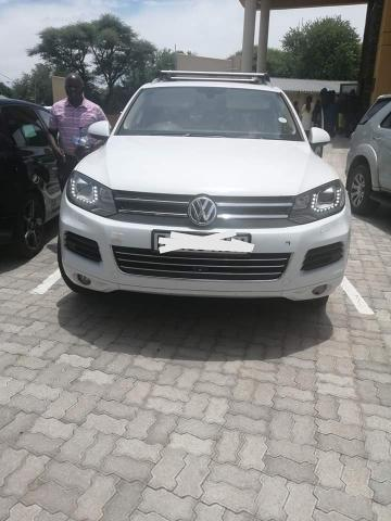 Used Volkswagen Touareg in
