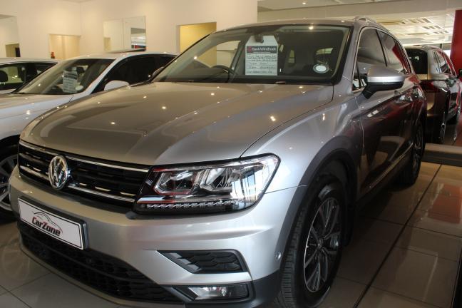 Volkswagen Tiguan TSI in