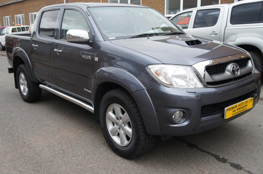 Toyota Hilux Invincible in Botswana