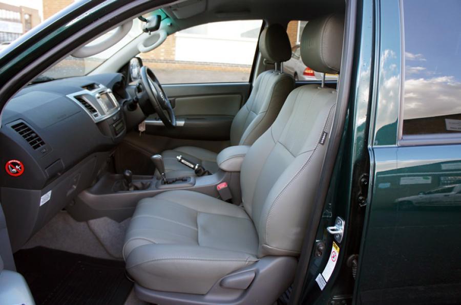 Toyota Hilux Invincible in Botswana