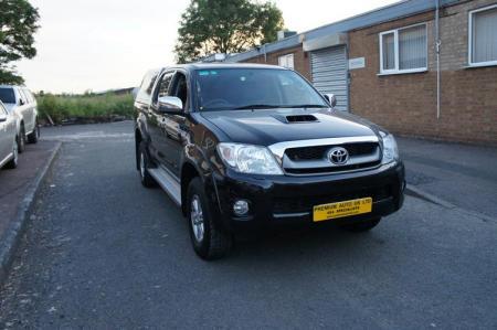 Toyota Hilux HL3 in Botswana