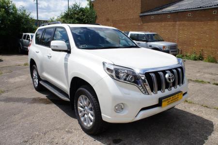 Toyota Land Cruiser Invincible in Botswana