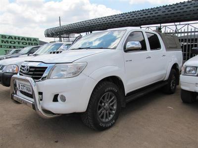 Toyota Hilux Dakar in Botswana