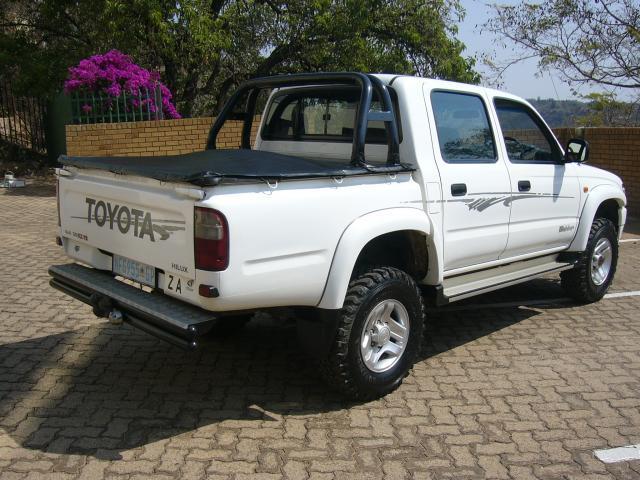 2002 TOYOTA HILUX TOYOTA HILUX 3.0 KZTE 4X4 in Botswana