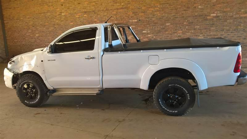 accident damaged hilux 3.0 d4d for sale in Botswana