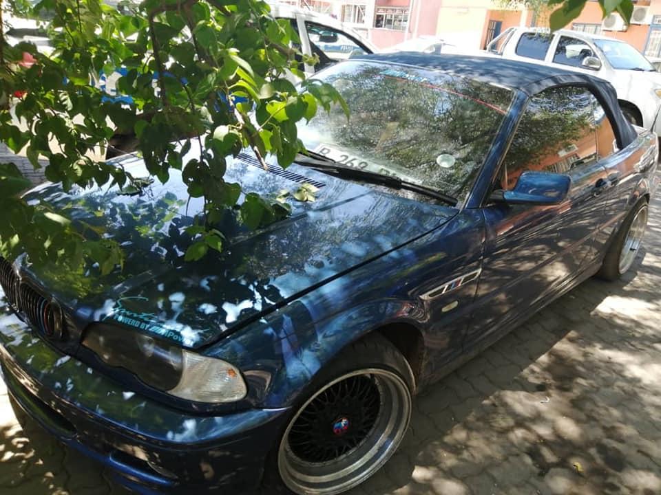 BMW 330ci in Botswana
