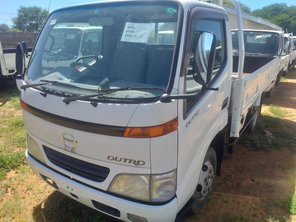 Hino Dutro in Botswana