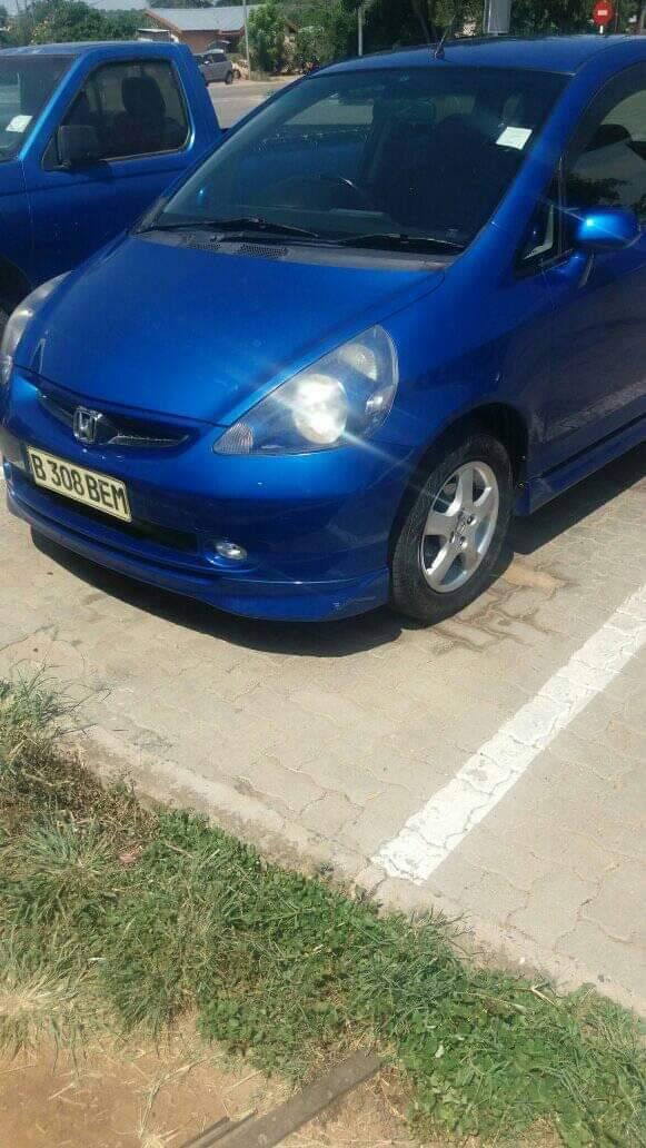 New Honda Fit in Botswana
