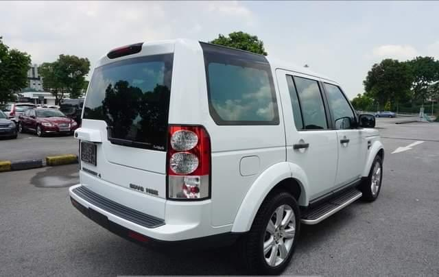 New Land Rover Discovery 4 in Botswana