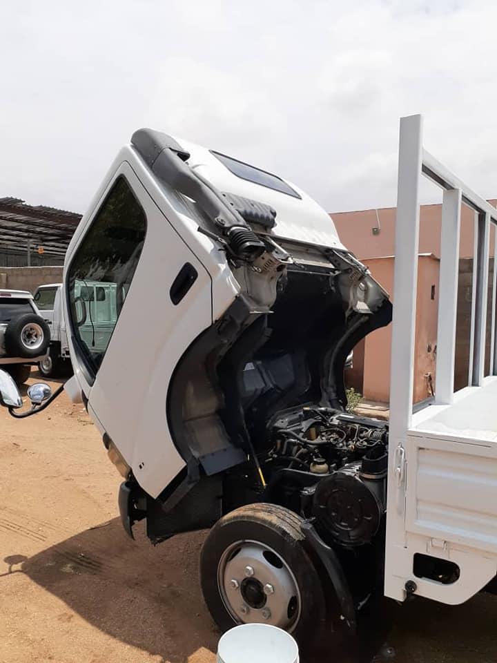 Toyota Dyna in Botswana