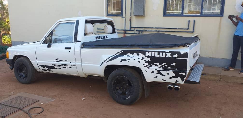 Toyota Hilux in Botswana