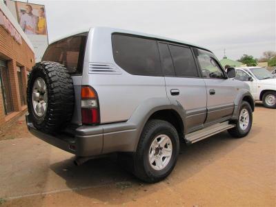 Toyota Land Cruiser Prado TX in Botswana