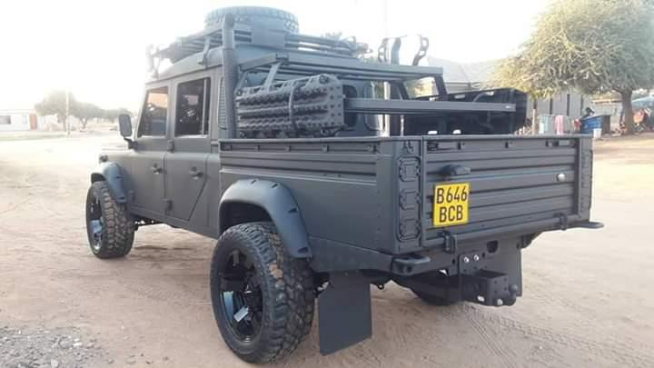 Used Land Rover Defender in Botswana