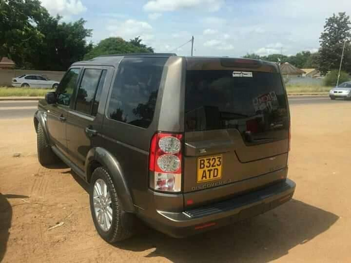 Used Land Rover Discovery 4 in Botswana