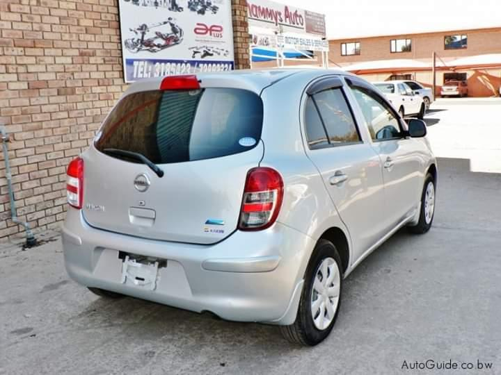 Used Nissan March in Botswana
