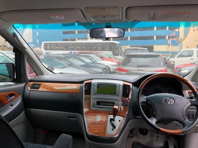 Used Toyota Alphard in Botswana
