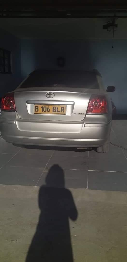 Used Toyota Avensis in Botswana