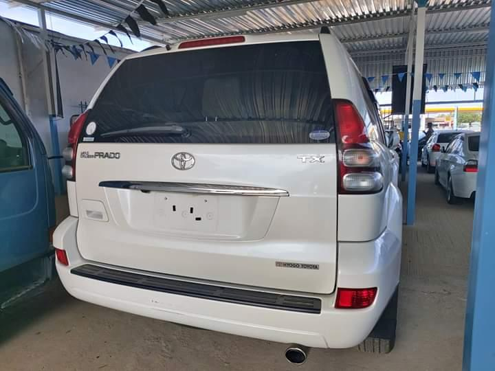 Used Toyota Land Cruiser Prado in Botswana