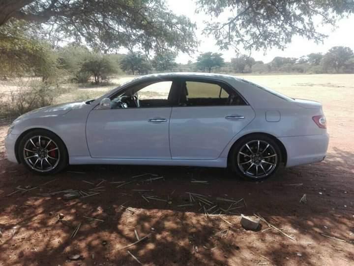 Used Toyota Mark X in Botswana