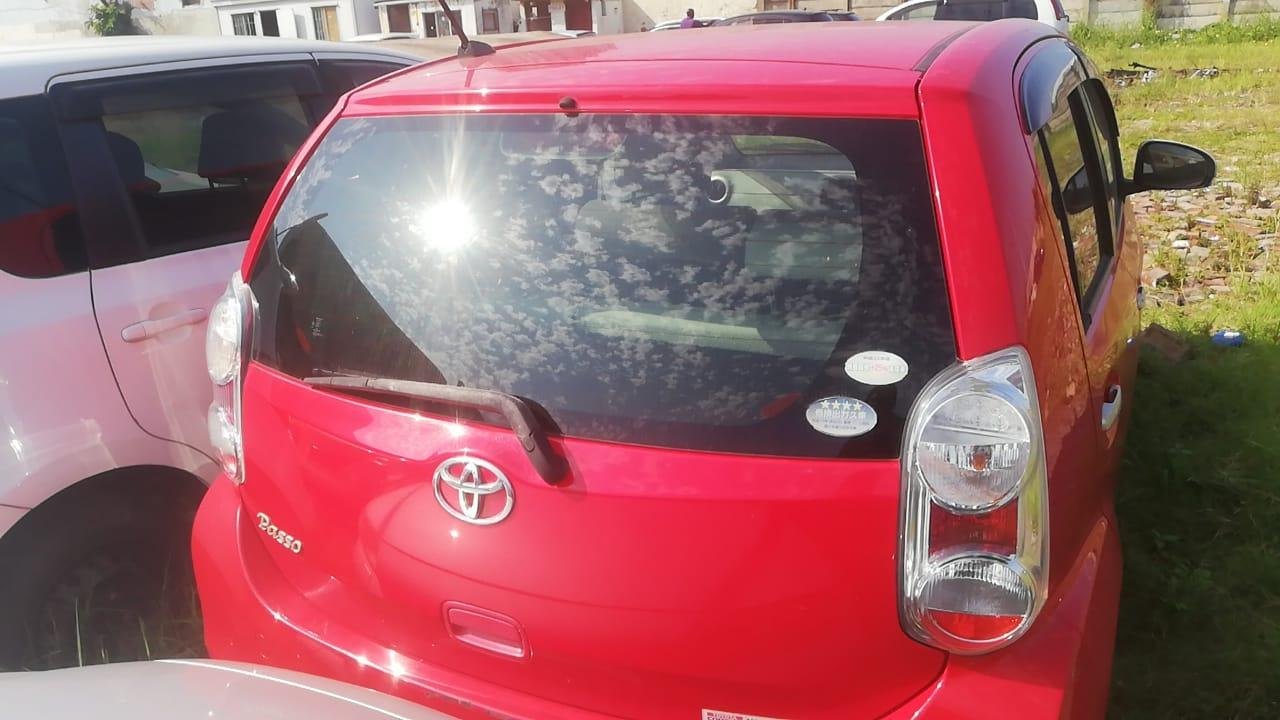 Used Toyota Passo in Botswana
