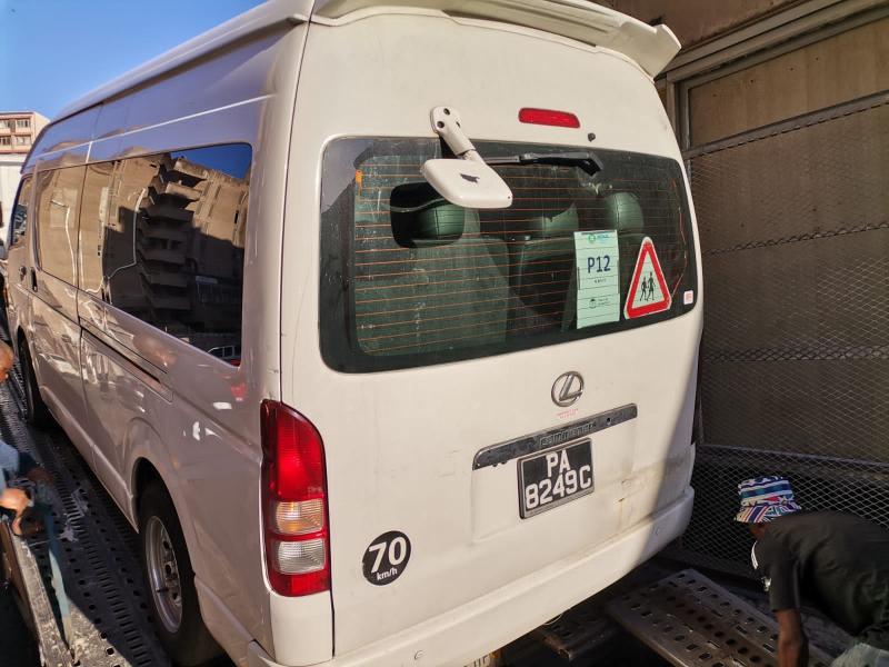 Used Toyota Quantum in Botswana