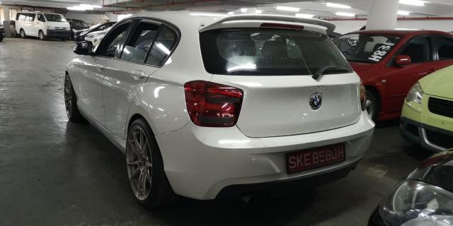 BMW 118i in Botswana