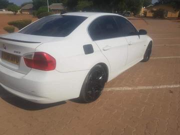 BMW 323i in Botswana