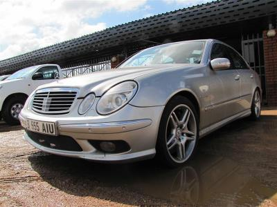 Mercedes Benz E55 AMG in