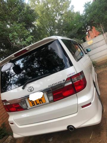 Toyota Alphard in Botswana