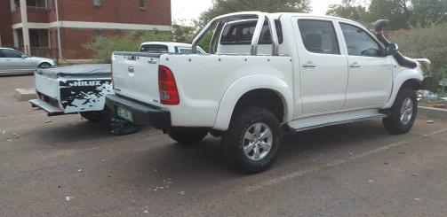 Toyota Hilux D4D in Botswana