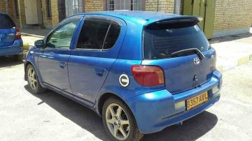 Toyota Vitz in Botswana