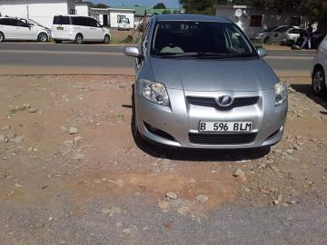 Used Toyota Auris in Botswana