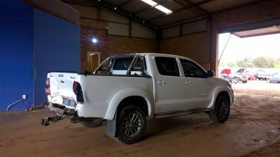 Used Toyota Hilux 2015 legend45 rear smashed in Botswana
