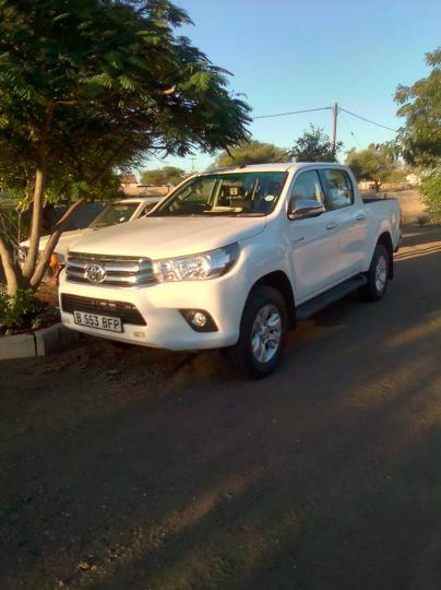 Used Toyota Hilux 7 in Botswana