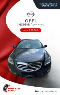Opel Insignia for sale in Botswana - 0
