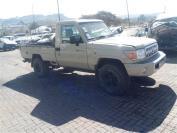 Used damaged runner Toyota Land Cruiser for sale in Botswana - 9