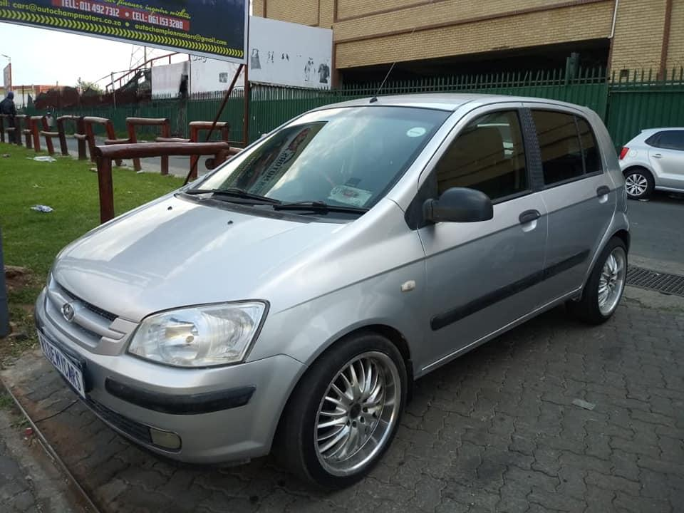 Used Hyundai Getz in South Africa