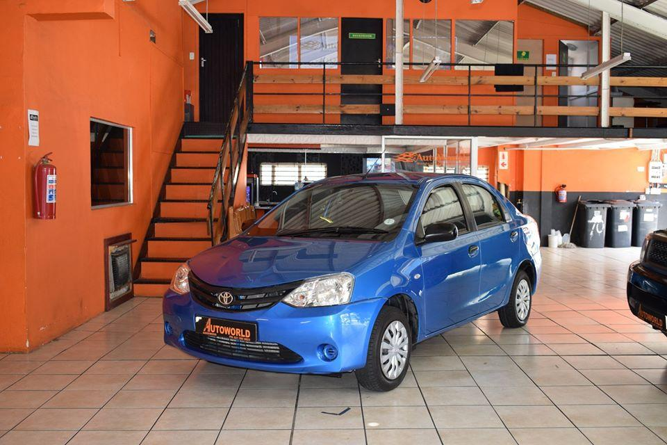 Used Toyota Etios in South Africa