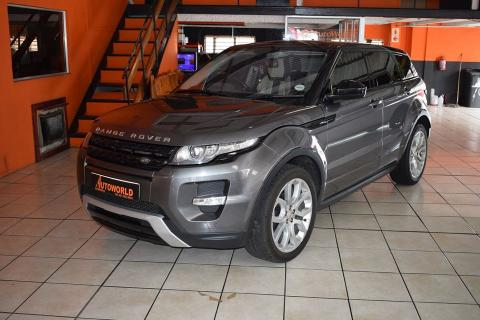 Used Land Rover Range Rover Evoque in South Africa