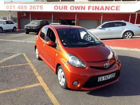 Used Toyota Aygo in South Africa
