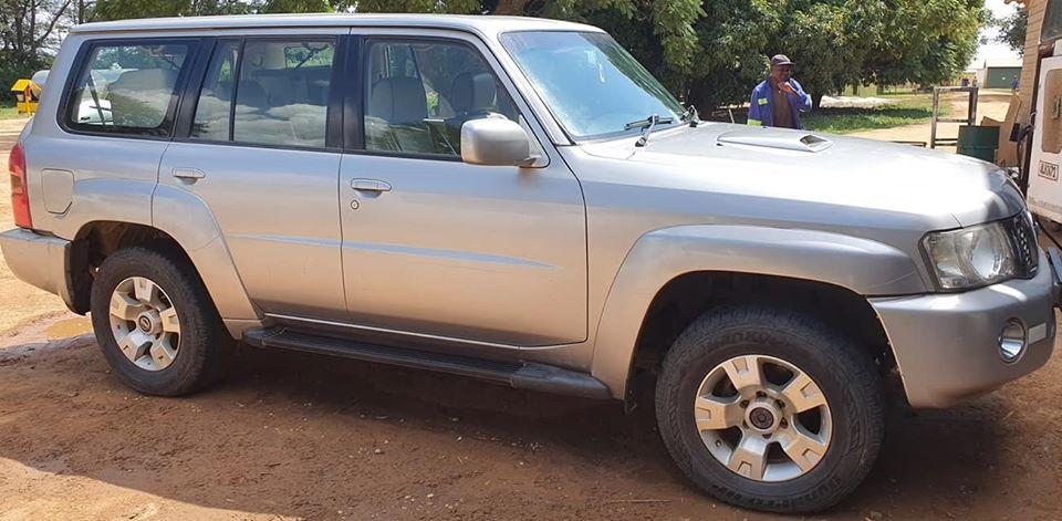 Used Nissan Patrol in Zambia