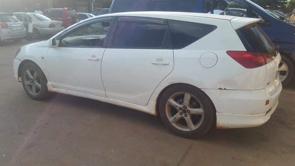 Used Toyota Caldina in Zambia