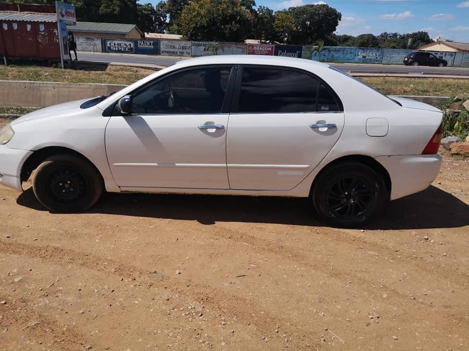 Used Toyota Corolla in Zambia