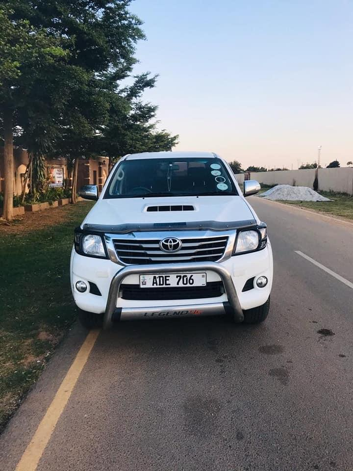 Used Toyota Hilux in Zambia