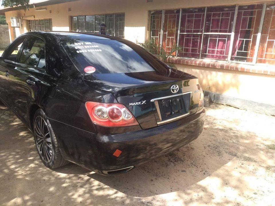 Used Toyota Mark X in Zambia