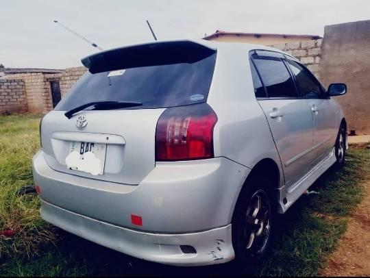 Used Toyota Runx in Zambia